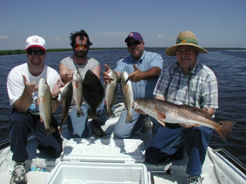 New orleans fishing charter guide service jean lafitte for New orleans fishing